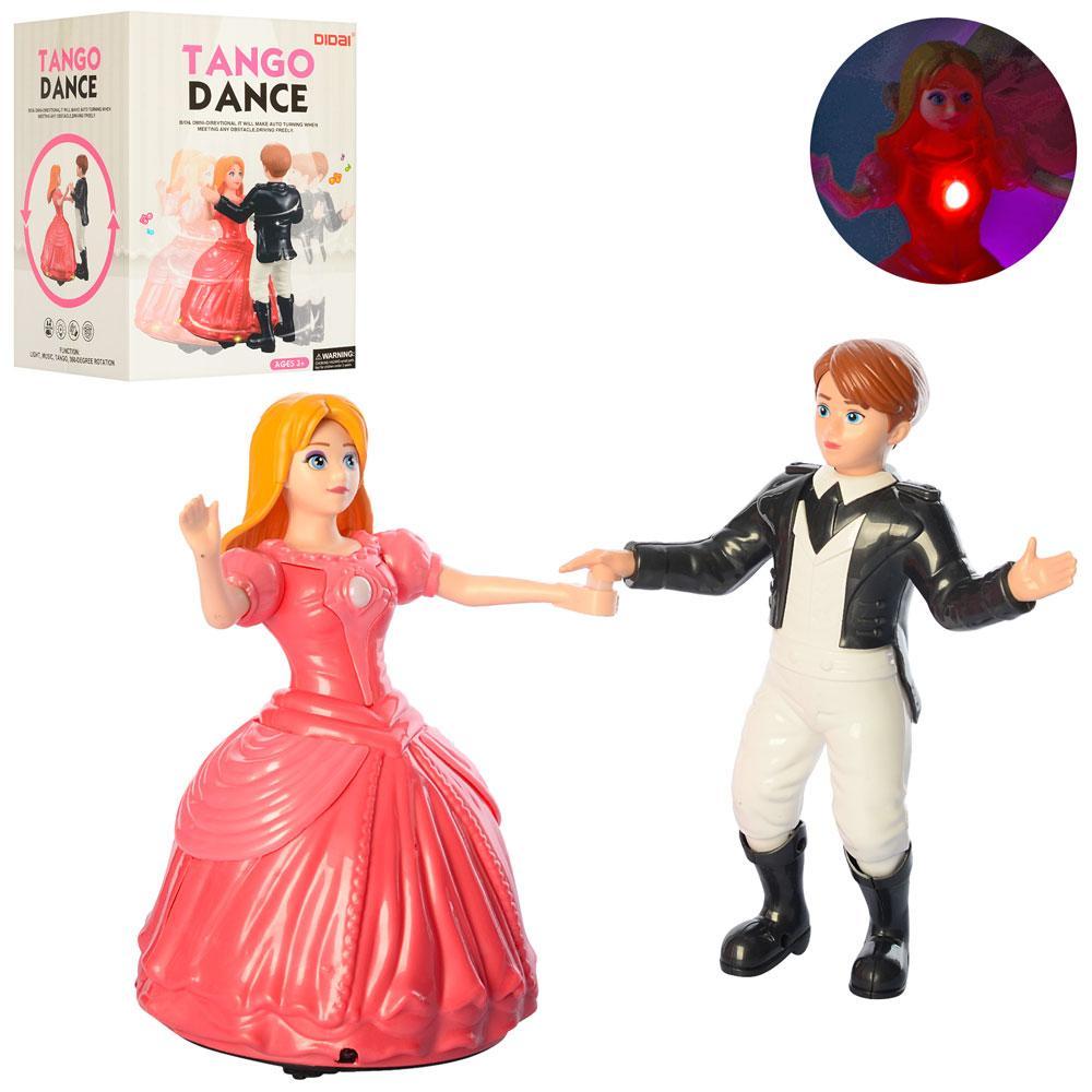 Набір танцюючих ляльок LD-145A Tango Dance зі звуковими і світловими ефектами