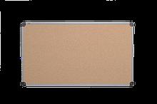 Доска пробковая 65x100 см ABC Office, в алюминиевой рамке S-line.