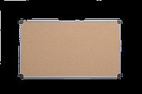 Доска пробковая 100x150 см ABC Office в алюминиевой рамке S-line.