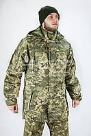 Куртка бушлат зимний пиксель ЗСУ с подстежкой на флисе