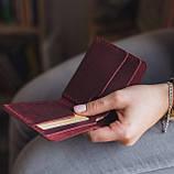 Шкіряний гаманець «Gomin» маленький
