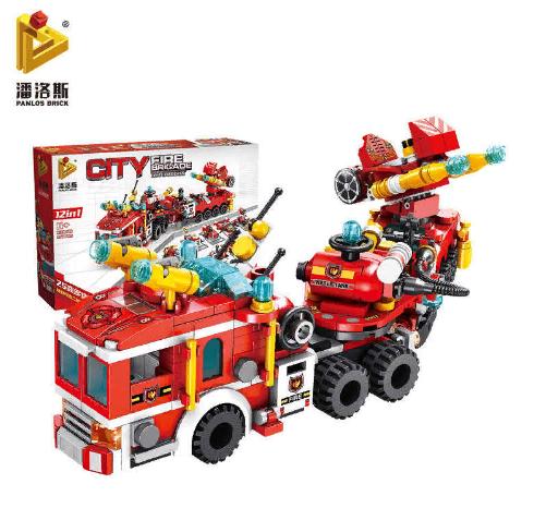 Конструктор Пожарные машины City Город