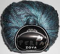 Пряжа Peria Zoya 001 Полушерстяная Пряжа для Ручного Вязания