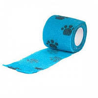 Эластичный бинт для собак Show Tech Self-Cling Bandage Blue
