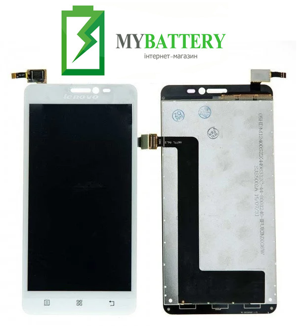 Дисплей (LCD) Lenovo S850 с сенсором белый