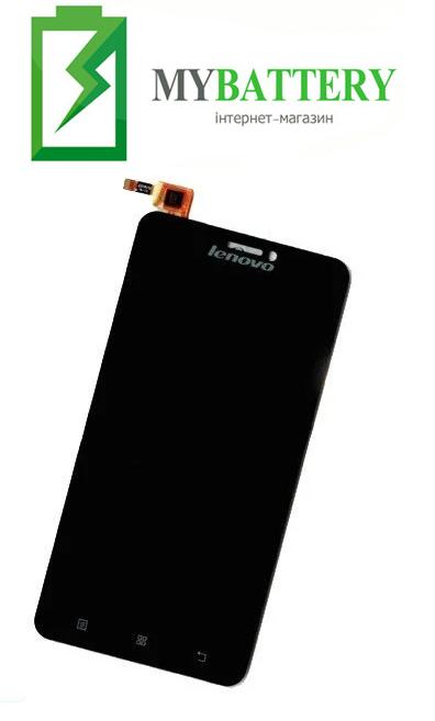 Дисплей (LCD) Lenovo S850 с сенсором черный