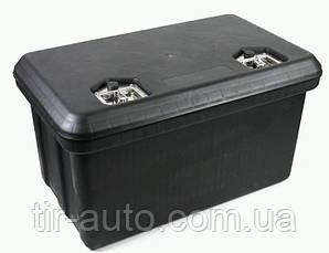 Ящик для инструмента 80 литров, два замка, черный ( 800x500x440 ) ( 11786CNT )