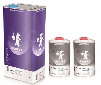 Лак акриловый бесцветный De Beer 1-102 4+1 MS, 4л+1л комплект
