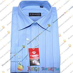 Мужские рубашки с полосками Длинный рукав Ворот: 38- 46 (ar17-6)