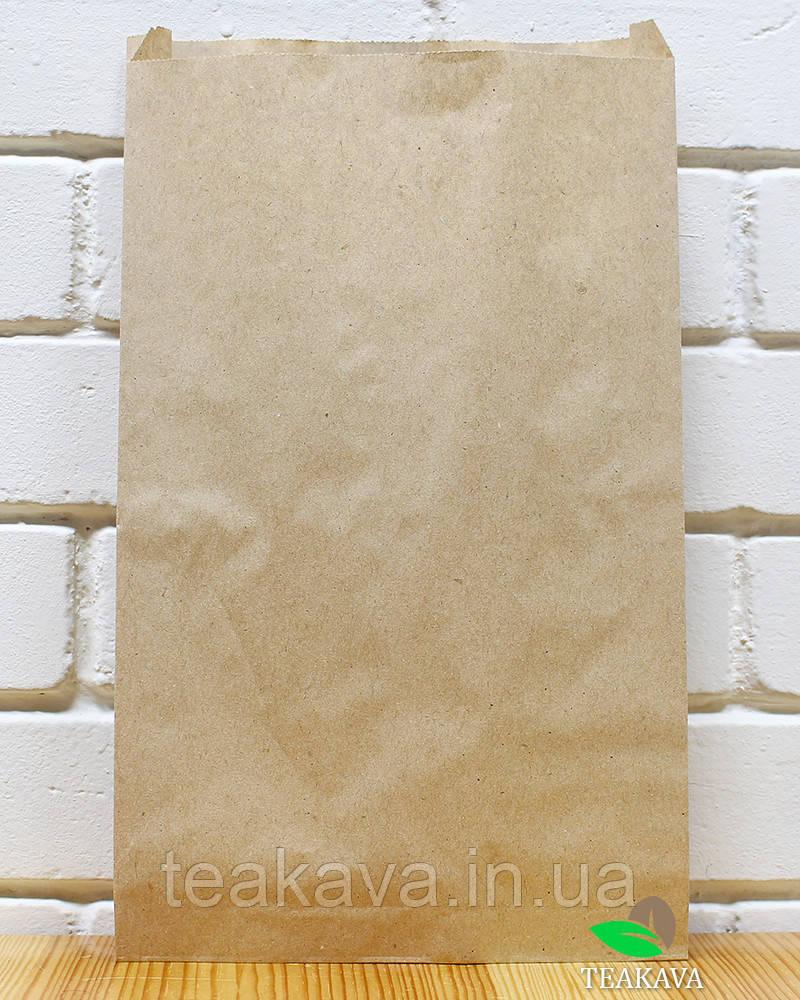 Крафт пакет бумажный 210х400х40 мм, 100 шт (ОПТ)