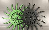 ОРИГІНАЛ Робоче колесо ротаційної борони мотики Yetter John Deere ORIGINAL, фото 1