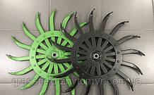 ОРИГІНАЛ Робоче колесо ротаційної борони мотики Yetter John Deere ORIGINAL