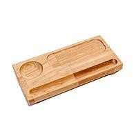 Блюдо деревянное для подачи суши для кафе, баров, ресторанов, отелей, фото 1