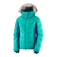 Горнолыжная куртка Salomon Icetown JKT W Waterfall 2019