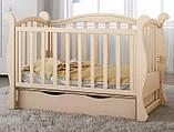 Детская кроватка для новорожденного  ЛЮКС 7  БЕСПЛАТНАЯ ДОСТАВКА, фото 2