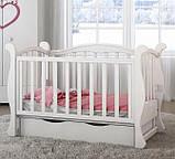 Детская кроватка для новорожденного  ЛЮКС 7  БЕСПЛАТНАЯ ДОСТАВКА, фото 3