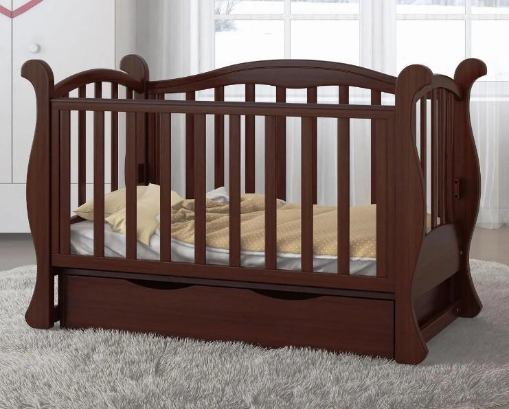 Детская кроватка для новорожденного  ЛЮКС 7  БЕСПЛАТНАЯ ДОСТАВКА