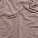 Велюр х/б кофейного цвета, фото 2