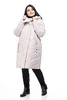 Женский пуховик зимний размер 48-60 высокое качество теплый удобный