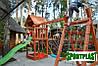 Производим детские площадки из дерева