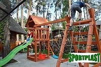 Производим детские площадки из дерева, фото 1