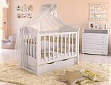 Дитяче ліжечко для новонародженого ЛЮКС 5 БЕЗКОШТОВНА ДОСТАВКА, фото 2