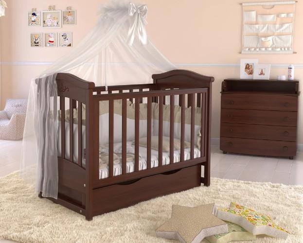 Дитяче ліжечко для новонародженого ЛЮКС 5 БЕЗКОШТОВНА ДОСТАВКА