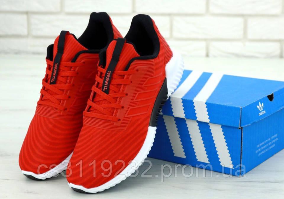 Мужские кроссовки Adidas Clima Cool Red (красные)