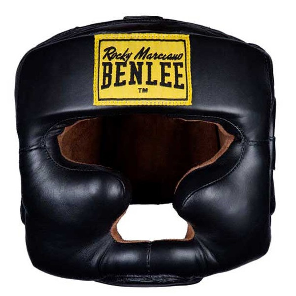 Шлем боксерский BENLEE FULL FACE (blk) натуральная кожа