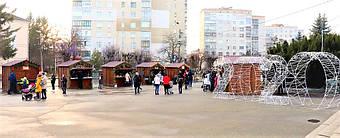 ✅ Компания «Промконтракт» изготовила и поставила в Шепетовку Хмельницкой области торговые киоски для организации Рождественской ярмарки.  5