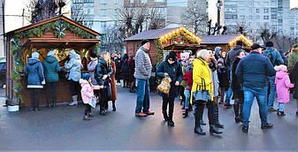 ✅ Компания «Промконтракт» изготовила и поставила в Шепетовку Хмельницкой области торговые киоски для организации Рождественской ярмарки.  13