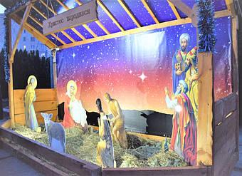 ✅ Компания «Промконтракт» изготовила и поставила в Шепетовку Хмельницкой области торговые киоски для организации Рождественской ярмарки.  18