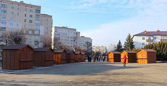✅ Компания «Промконтракт» изготовила и поставила в Шепетовку Хмельницкой области торговые киоски для организации Рождественской ярмарки.  24