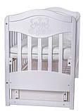 Дитяче ліжечко для новонародженого ЛЮКС 2 БЕЗКОШТОВНА ДОСТАВКА, фото 3