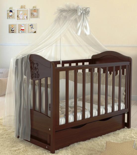 Дитяче ліжечко для новонародженого ЛЮКС 2 БЕЗКОШТОВНА ДОСТАВКА