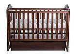 Дитяче ліжечко для новонародженого ЛЮКС 2 БЕЗКОШТОВНА ДОСТАВКА, фото 5
