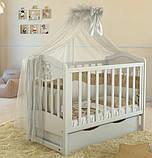 Дитяче ліжечко для новонародженого ЛЮКС 2 БЕЗКОШТОВНА ДОСТАВКА, фото 6
