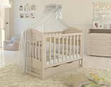 Дитяче ліжечко для новонародженого ЛЮКС 2 БЕЗКОШТОВНА ДОСТАВКА, фото 7