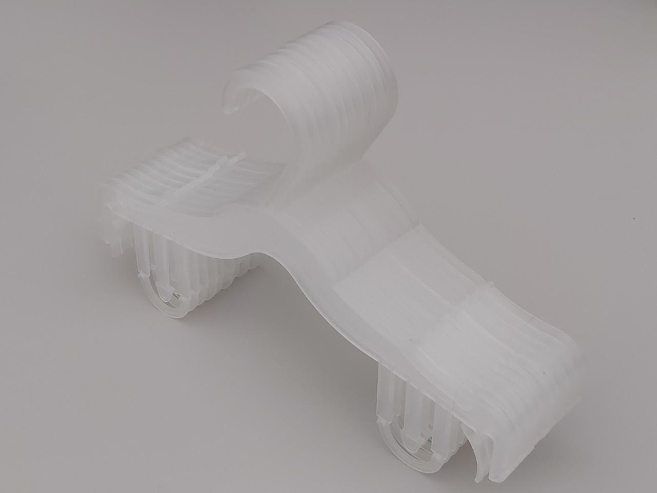 Плечики вешалки тремпеля V-DS26 pp матового цвета, длина 25,5 см
