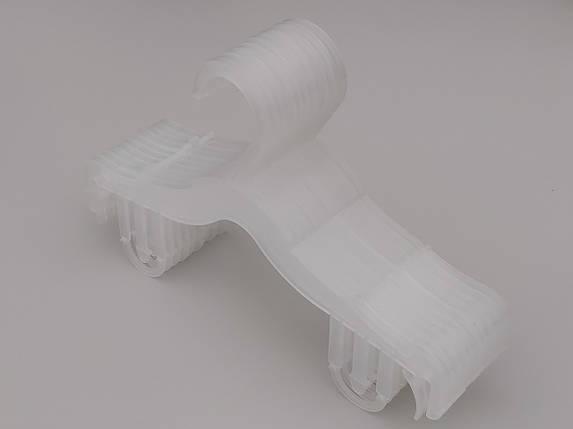 Плечики вешалки тремпеля V-DS26 pp матового цвета, длина 25,5 см, фото 2