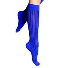 Шкарпетки компресійні, 1 клас, 210 Den, (17-20 мм. рт.ст) блакитні, Travel 311, Lipoelastic, Чехія