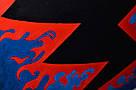 Картина Заинька в бешенстве 60х90 см холст масло галерейная натяжка современная живопись комиксы, фото 3