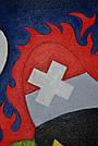 Картина Заинька в бешенстве 60х90 см холст масло галерейная натяжка современная живопись комиксы, фото 4