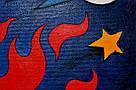 Картина Заинька в бешенстве 60х90 см холст масло галерейная натяжка современная живопись комиксы, фото 5