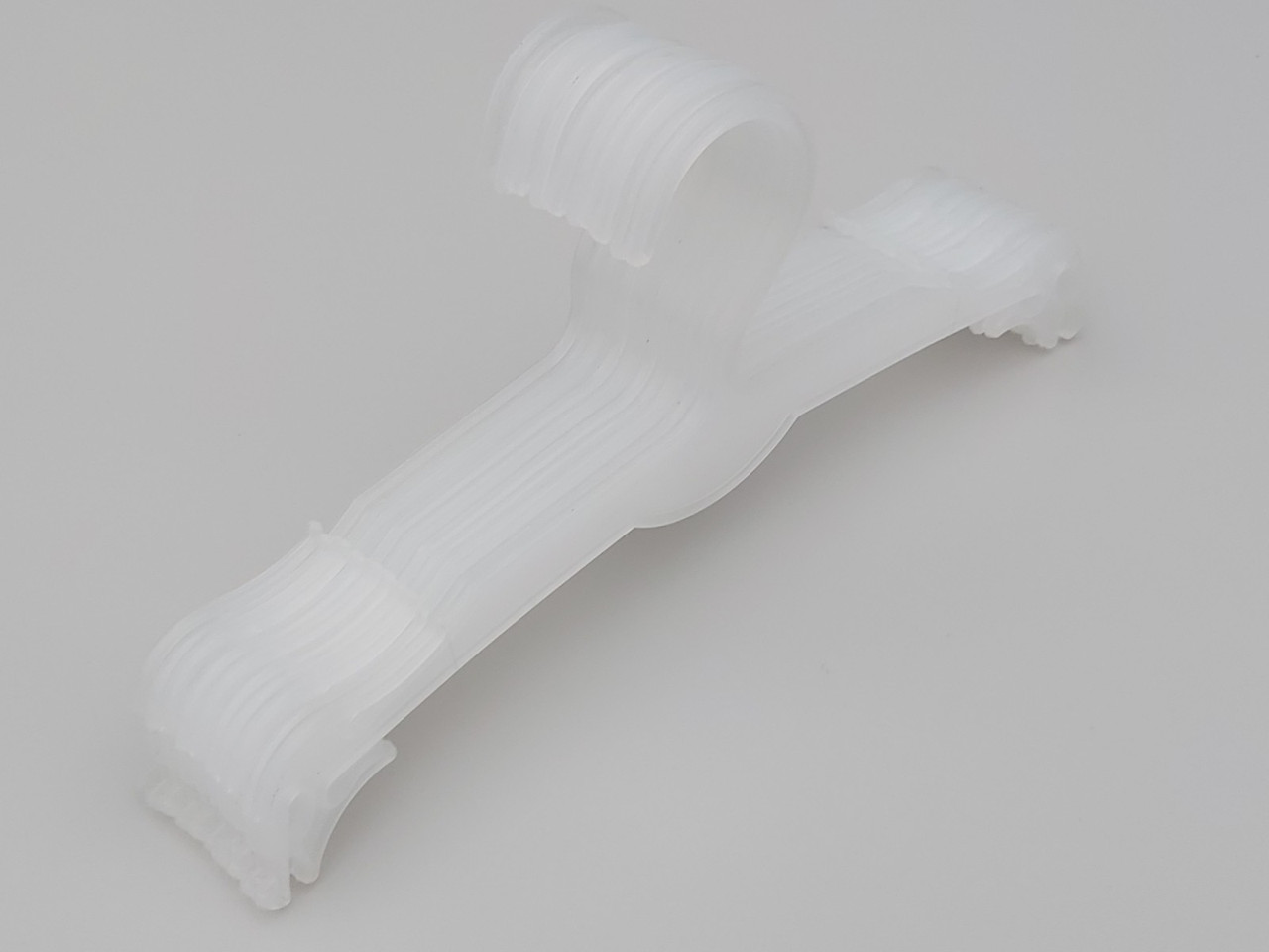 Плечики вешалки пластмассовые для нижнего белья V-N27pp матовые, 27 см, 10 штук в упаковке