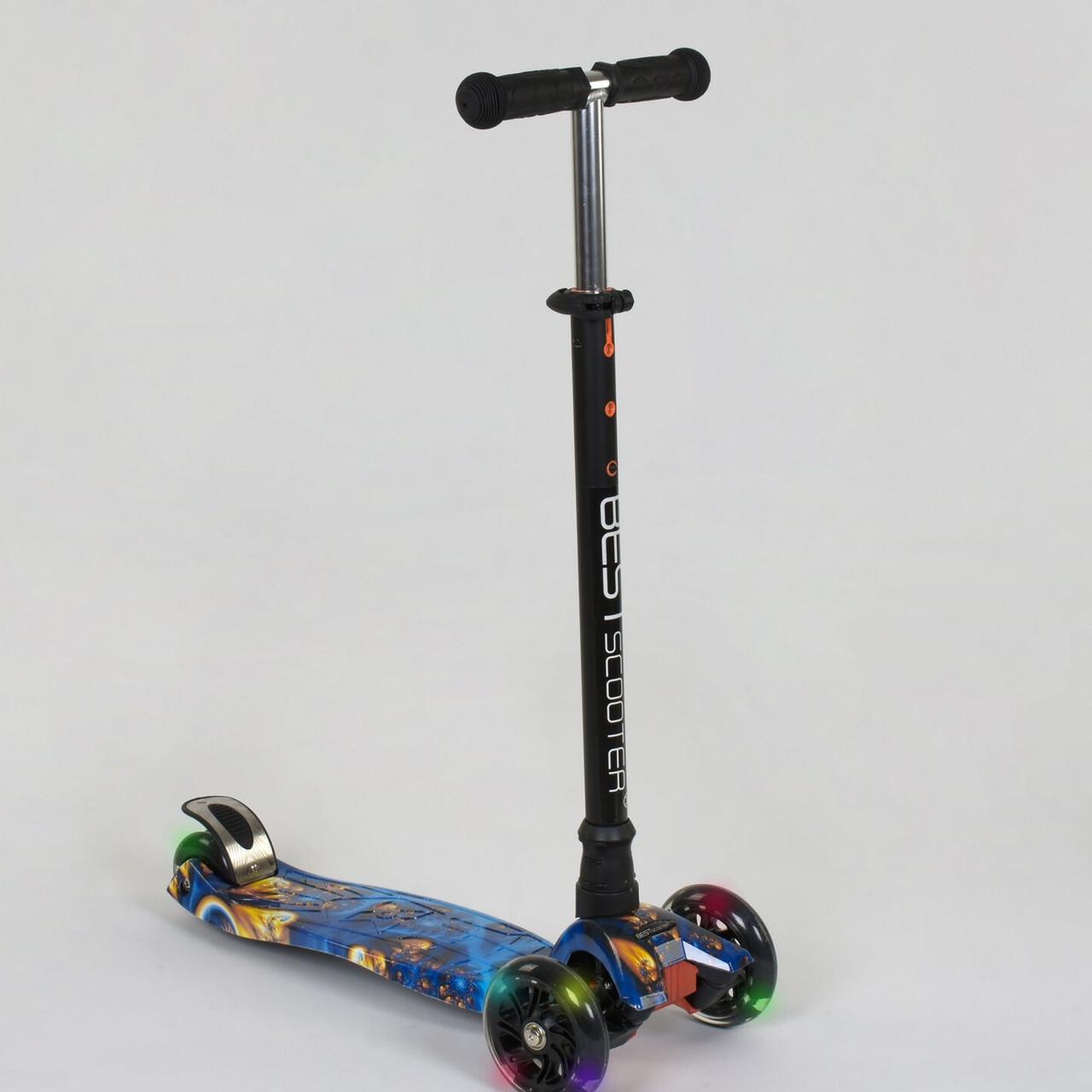 Самокат Best scooter MAXI граффити 1334