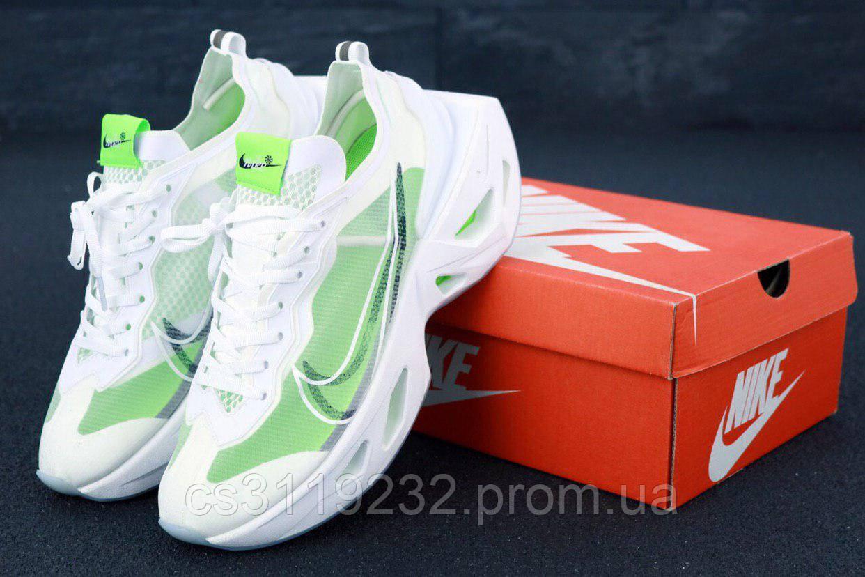 Чоловічі кросівки Nike Zoom X Vista Grind (біло-зелені)