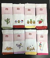 Вафельные полотенца для кухни TAC 40×60см — (2 шт в упаковке, цвета в ассортименте)