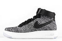 Мужские кроссовки Nike Air Force 1 Ultra Flyknit Grey M размер 43 (Ua_Drop_116025-43)