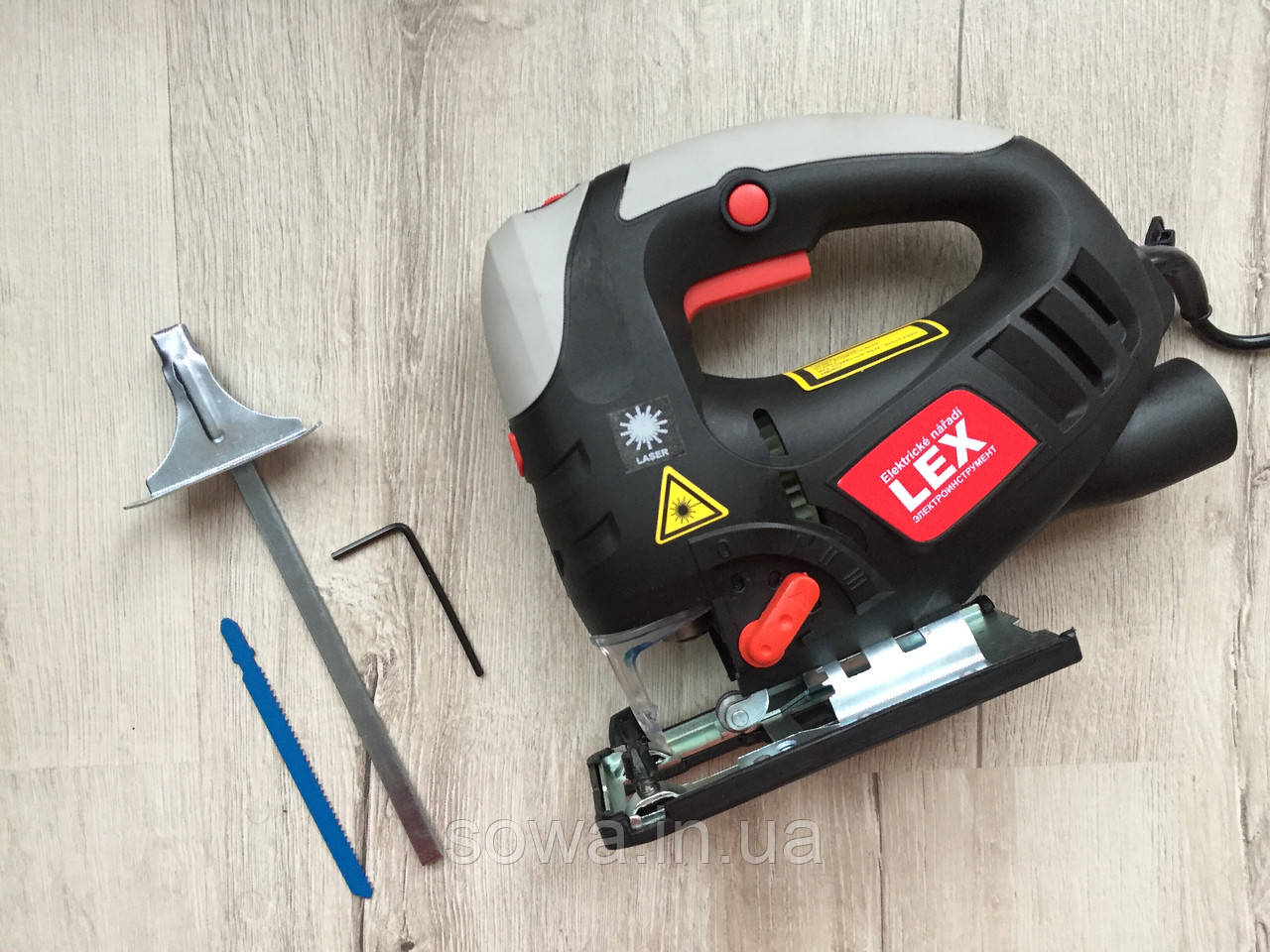 ✔️ Лобзик с лазером LEX JS 233 | 1200 Вт |  + пилки в подарок